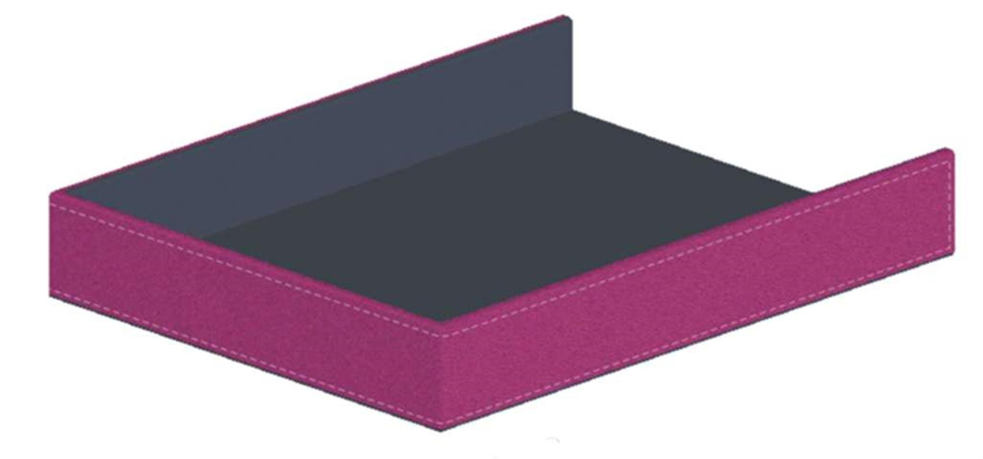 Pierre Belvedere Executive Paper Tray, Fuchsia (677250)