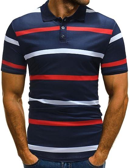 Tee Shirts polo para hombre, Sonnena 2018 botones Design tirador ...