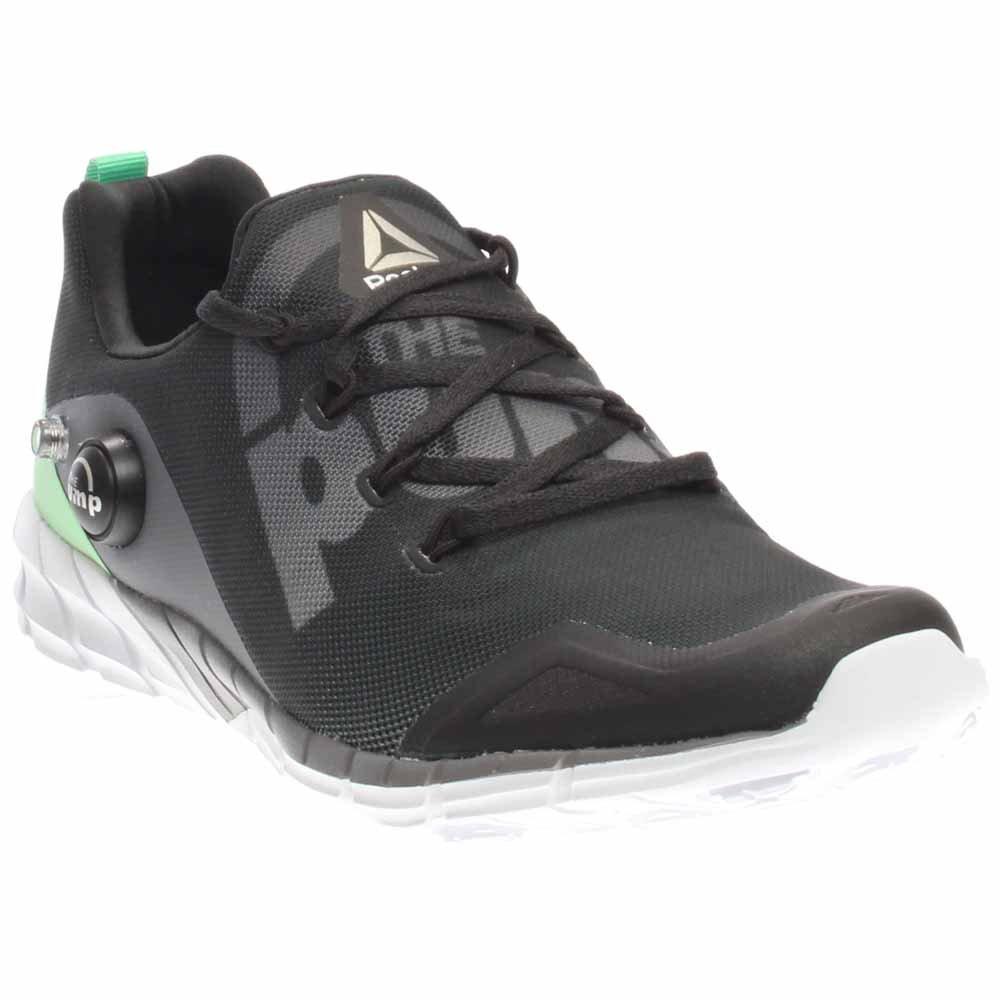 Reebok Women's Zpump Fusion 2.0 Running Shoe B01IFH86IM 8 M US|Coal/Shark/Teal/Green