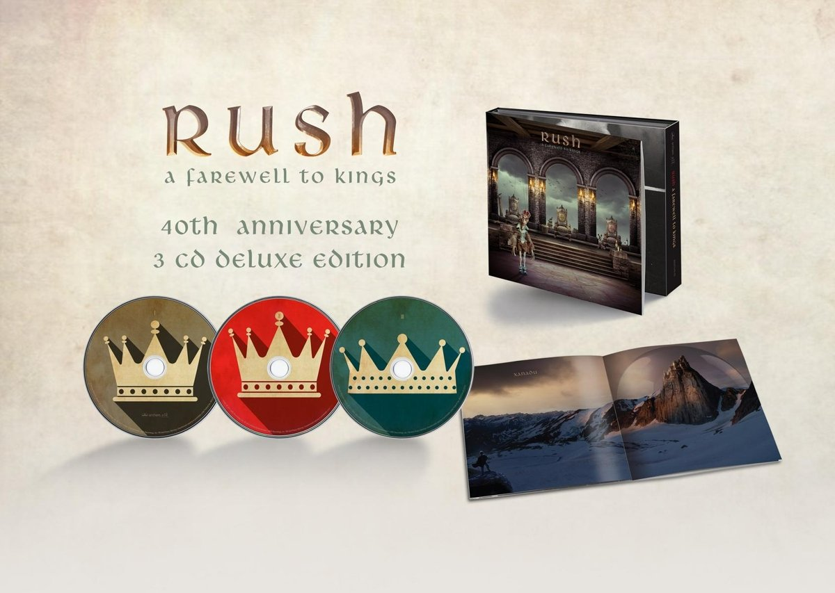 CD : Rush - A Farewell To Kings (40th Anniversary Edition) (Anniversary Edition, 3PC)