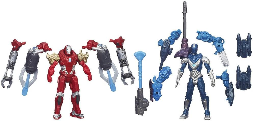 Iron Man 3 Assemblers Exclusive Action Figure 2-Pack Red Snapper ...