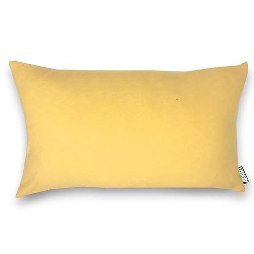 Jersey Funda de cojín Mia en amarillo jaspeado como ...