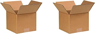 "product image for Partners Brand P776 Corrugated Boxes, 7""L x 7""W x 6""H, Kraft (Pack of 25)"