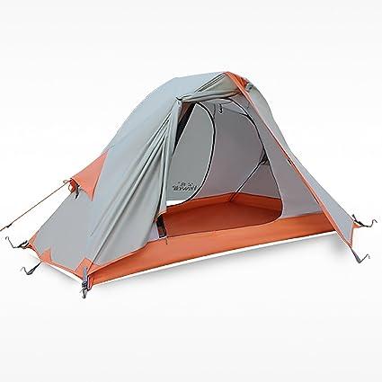 Hewolf Outdoor 1 Man Tent for Trekking/Riding/Hiking/C&ing Waterproof  sc 1 st  Amazon.com & Amazon.com : Hewolf Outdoor 1 Man Tent for Trekking/Riding/Hiking ...