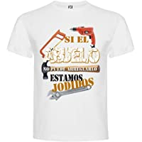 AMM CUSTOM - Camisetas día del Padre SI EL Abuelo NO Puede AREGLARLO