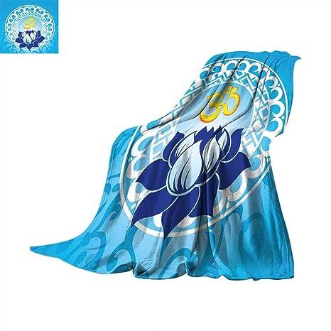 Amazoncom Chakra Travel Throw Blanket Eastern Spiritual Design
