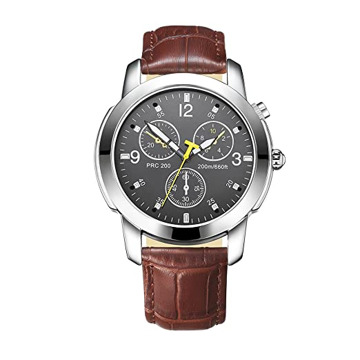 Reloj inteligente con movimiento de cuarzo Bluetooth, podómetro deportivo único, Bluetooth, disparo a distancia, analógico, reloj de pulsera inteligente de ...
