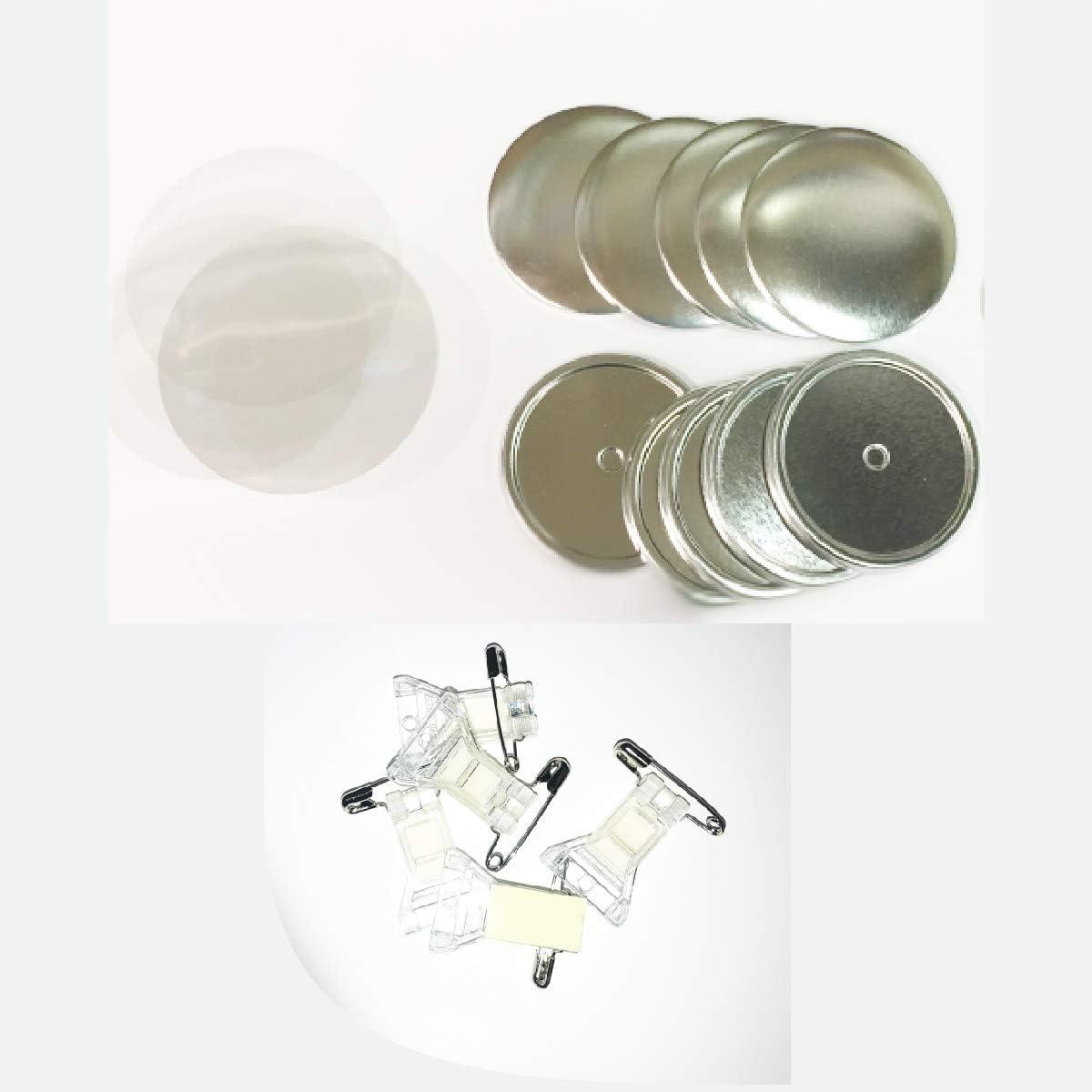 【スタンド】缶 バッジ マシン パーツ 56mm スタンド セット(ニプリ) (大容量1000個セット)