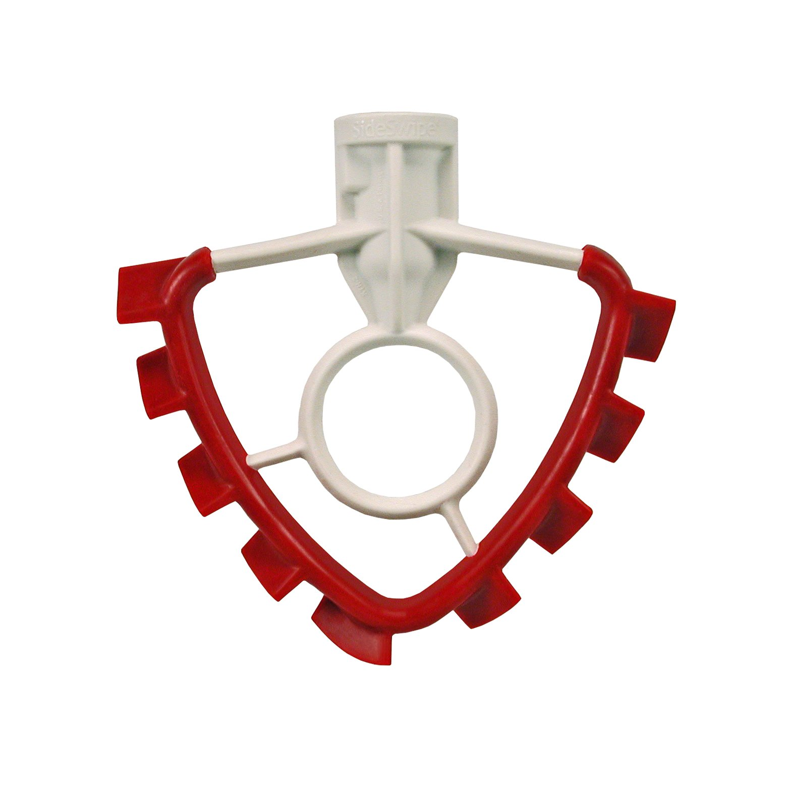 SideSwipe flex edge beater for KitchenAid Tilt-Head Mixers, in Red