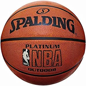 Spalding Basket Topu NBA Platinum Outdoor 73-304 (63-758Z) No:7 TOPBSKSPA153