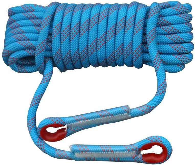 ロープ屋外クライミングロープ、14/12 mm安全ロープクライミングロープロープクライミングロープナイロンロープ脱出装置、30 m / 20 m / 15 m / 10 m(サイズ:12 mm - 20 m)  12mm-20m