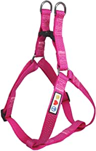 Pawtitas Pet Reflective Step in Dog Harness or Reflective Vest Harness Comfort Control Training Walking of Your Puppy Harness/Dog Harness