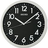 Seiko QXA694N Lumibrite - Reloj de Pared (30 x 29,5 x 5 cm), Color Negro