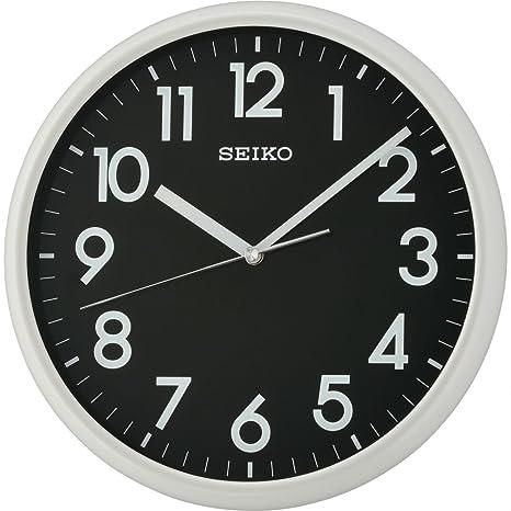 Seiko QXA694N Lumibrite - Reloj de Pared (30 x 29,5 x 5 cm