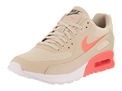sports shoes 48585 dd144 Image Unavailable. Image not available for. Color  Nike Women s Air Max 90  Ultra 2.0 Oatmeal Lava Glow White Running Shoe 7