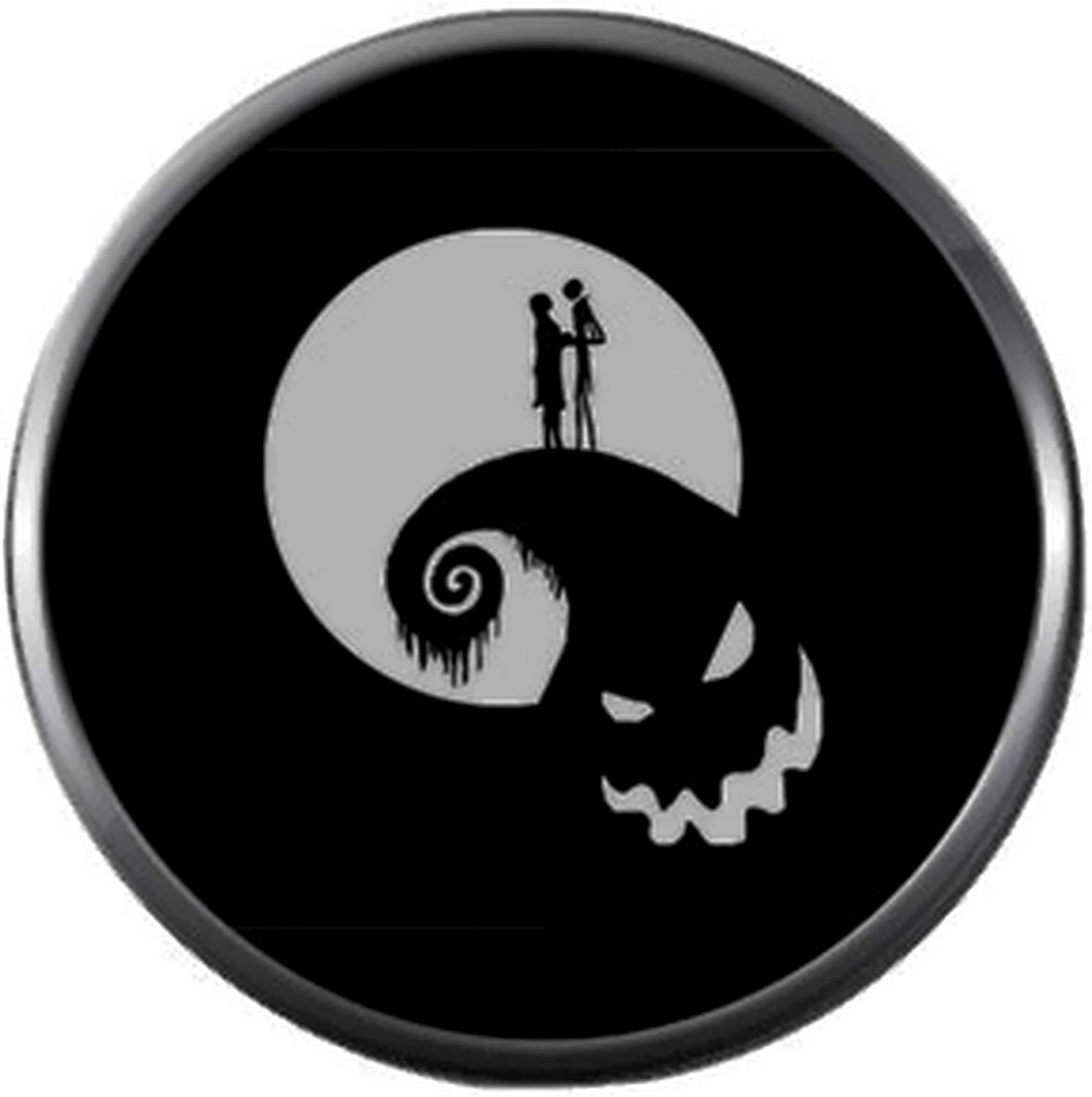 Jack and Sally over the Hill Door gripper Nightmare before Christmas