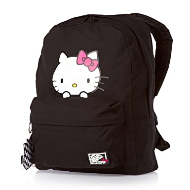 d217ce36f9fe Image Unavailable. Image not available for. Color  Vans Juniors Peeking Hello  Kitty Backpack ...