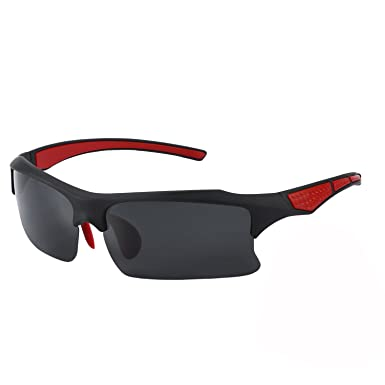 28eb570aa4 Image Unavailable. Image not available for. Color  BRIGADA Polarized Cool  Black Fashion Driving Sport Sunglasses for Men to Keep Safe ...