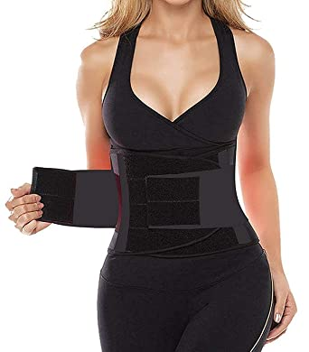c8f0ad9a44713 SHAPERX Camellias Women s Waist Trainer Belt Waist Training Corset Waist  Cincher Slimming Body Shaper for an