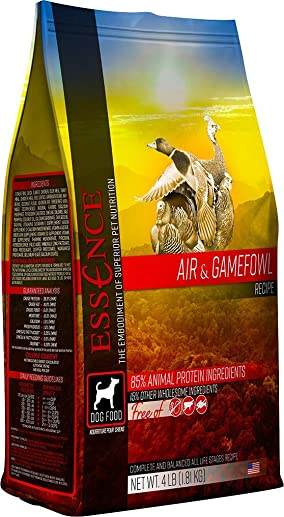 Essence Air Gamefowl Grain-Free Dry Dog Food 4lb