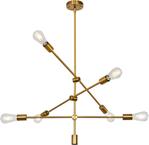 Luupyia Sputnik Chandelier Lighting