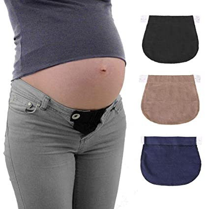 7955c49a2868c Pregnancy Belt Extension Maternity Waist Elastic Pants for Pregnant/Mother  Women, Adjustable Elastic, Maternity Solution: Amazon.ca: Home & Kitchen