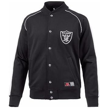 großer Abverkauf heiß-verkaufende Mode Beste Majestic Letterman College Jacke - Oakland Raiders black ...