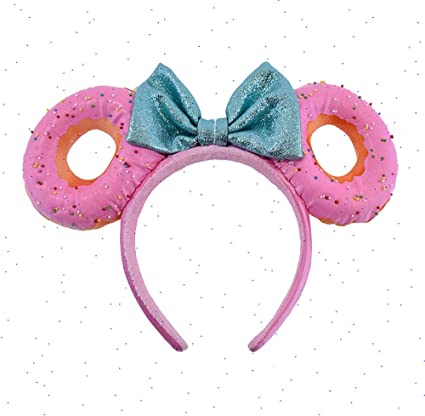 Disney Parks Potion Purple Minnie Mouse Ears Bow Sequins Headband