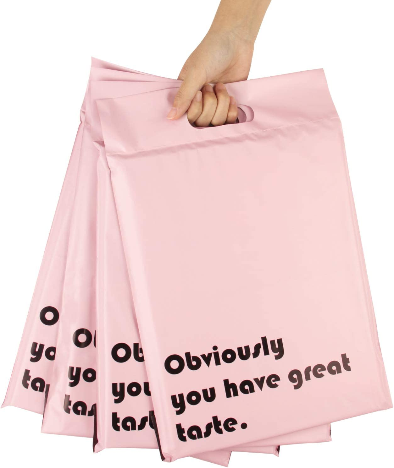 500 10x13 Poly Mailers Plastic Envelopes Shipping Mailing Bags 2.5 MIL Hot Pink