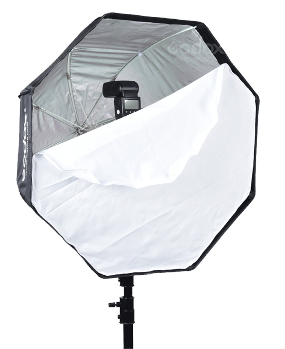 Godox Portable 95cm/37.5'' Umbrella Octagon Softbox Reflector with Carrying Bag for Studio Photo Flash Speedlight by Godox (Image #5)