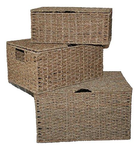 Seagrass Storage Boxes - 8