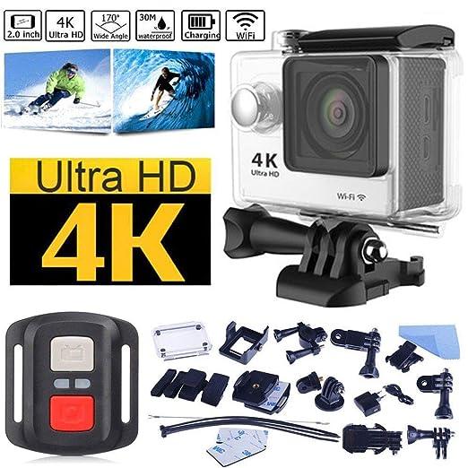 Lvreby HD 4K cámara de acción WiFi 2,0
