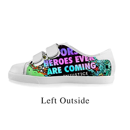 8328a2bee8 Fashoes Custom Kids  Boys And Girls Shoes Suicide Squad Character Custom  Velcro Shoes for Boy Model008 Canvas Shoes Footwear Sneakers  Amazon.ca   Sports   ...