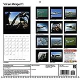 Vol En Mirage F1 2018: Vivez Au Plus Pres Un Vol a Bord D'un Avion De Chasse ! (Calvendo Art) (French Edition)