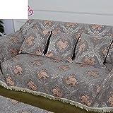 Sofa Slipcovers,Sofa Covers,Protector FurnitureEuropean-style sofa full cover towel/ non-slip fabric sofa towel-B 180x360cm(71x142inch)