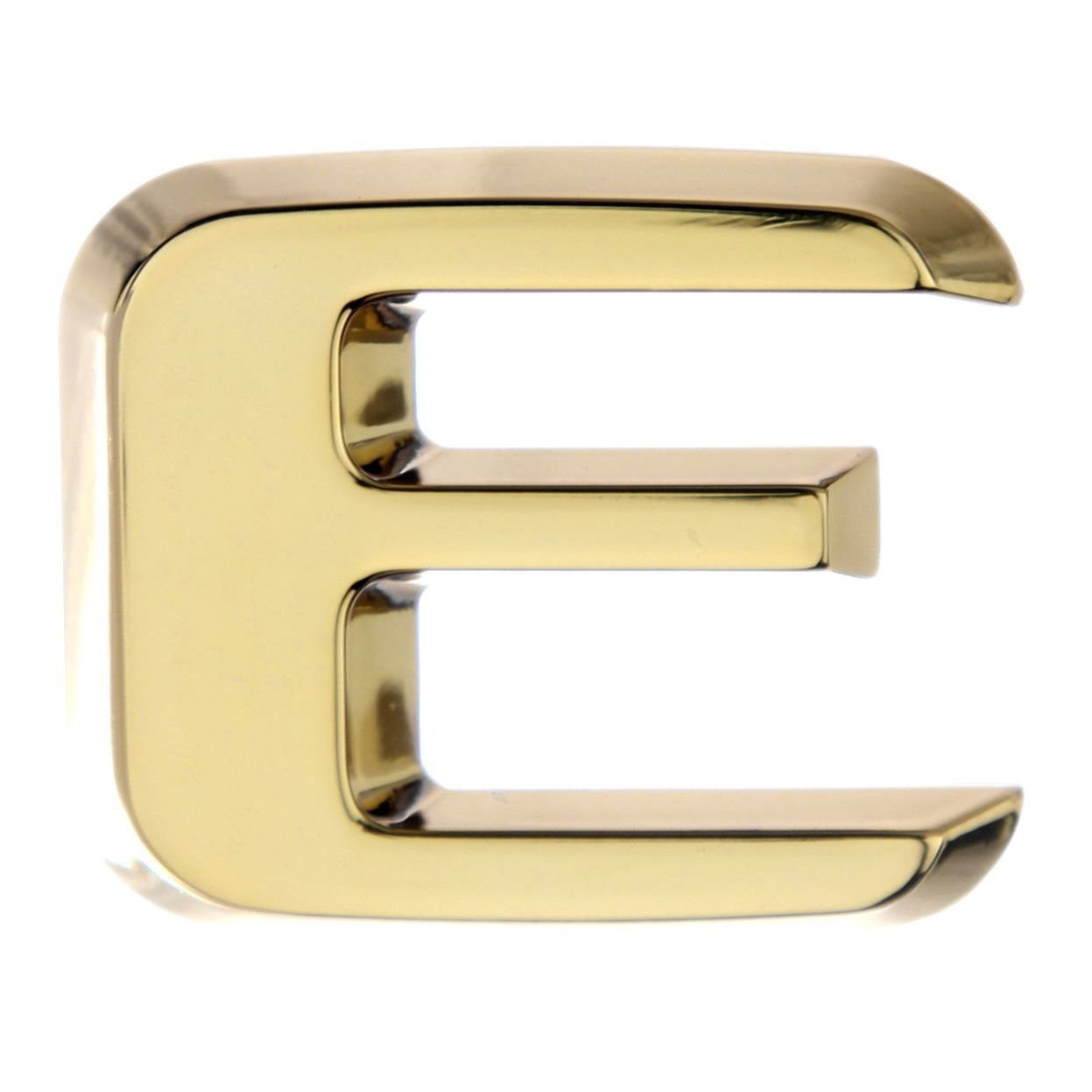 Gold Luxbling Auto Chrom 3D Buchstabe S
