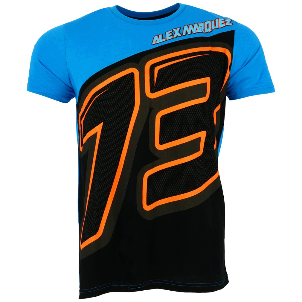Pritelli 1832001//L Alex Marquez 73/ Moto GP Panel Logo Shirt Offizielle 2018