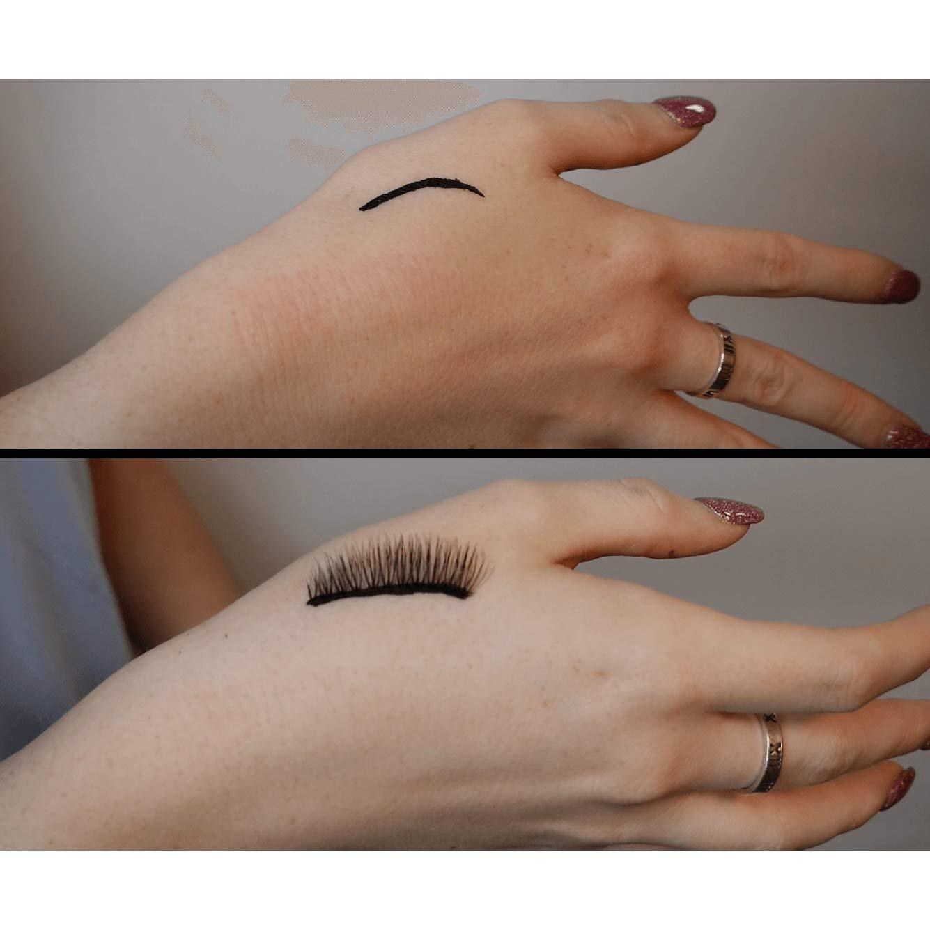 Day to Night Magnetic Eyeliner and Eyelash Kit - Reusable Silk False Lashes - Natural Look [No Glue] - By Clevermore Essentials by Clevermore Essentials, LLC. (Image #6)