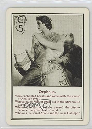Amazon.com: Orpheus (Trading Card) 1901 Cincinnati ...