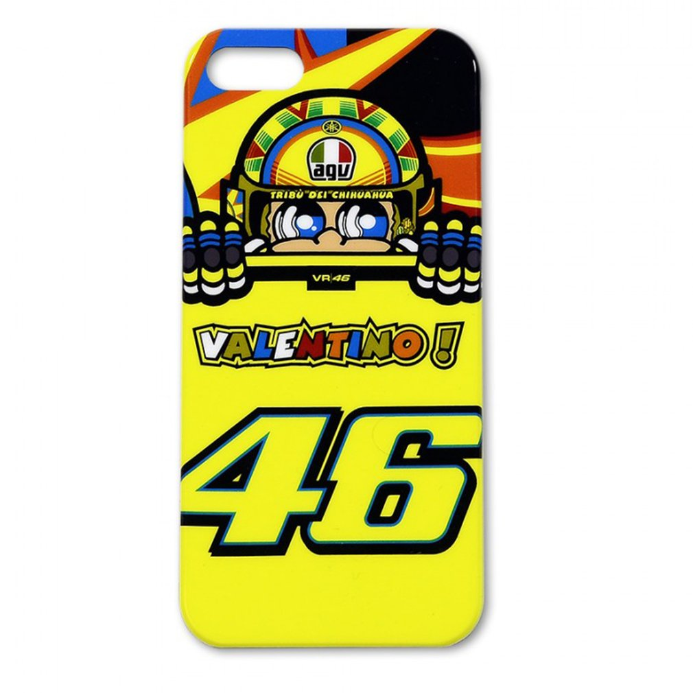 Vr46 iphone wallpaper - Amazon Com Valentino Rossi Vr46 The Doctor Iphone 5 5s Case Yellow Official New Cell Phones Accessories
