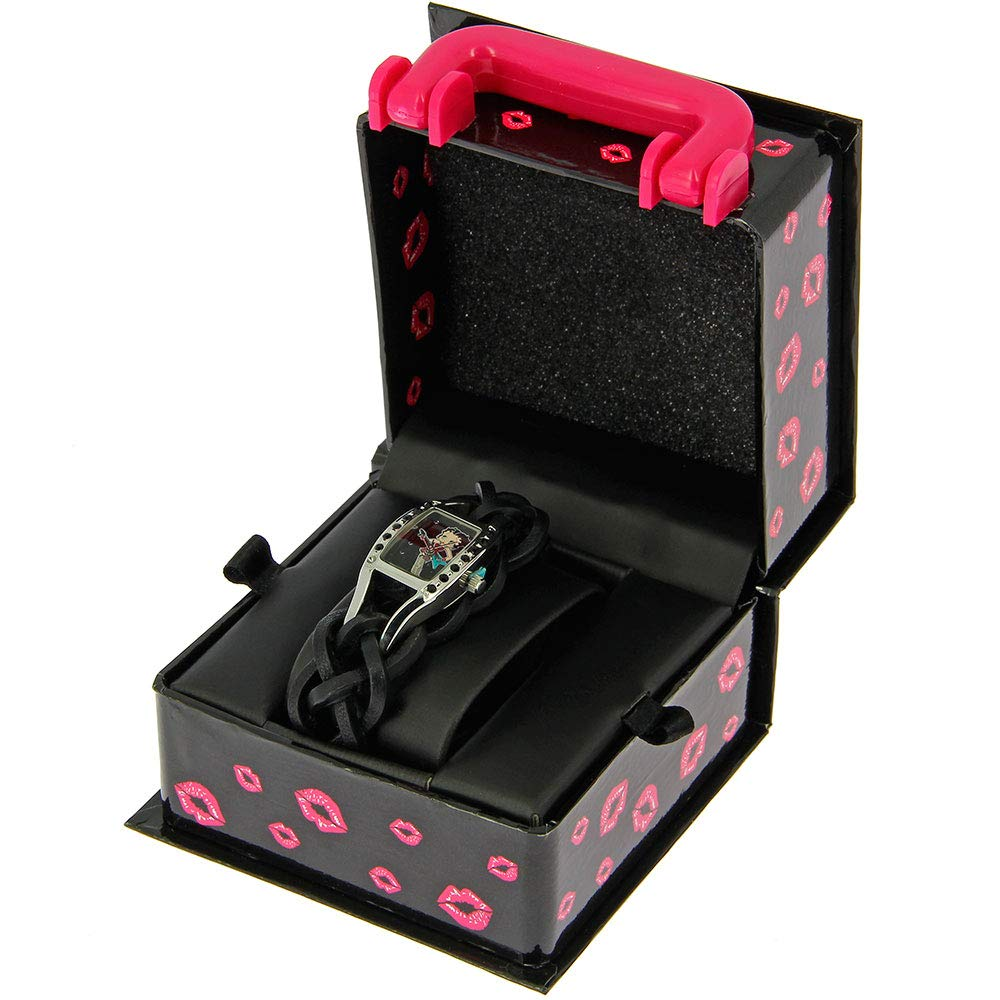 Official Betty Boop Deluxe Watch Collection (Rock Chick)