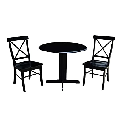 Overstock 36 Inch Dual Drop Leaf Dining Table