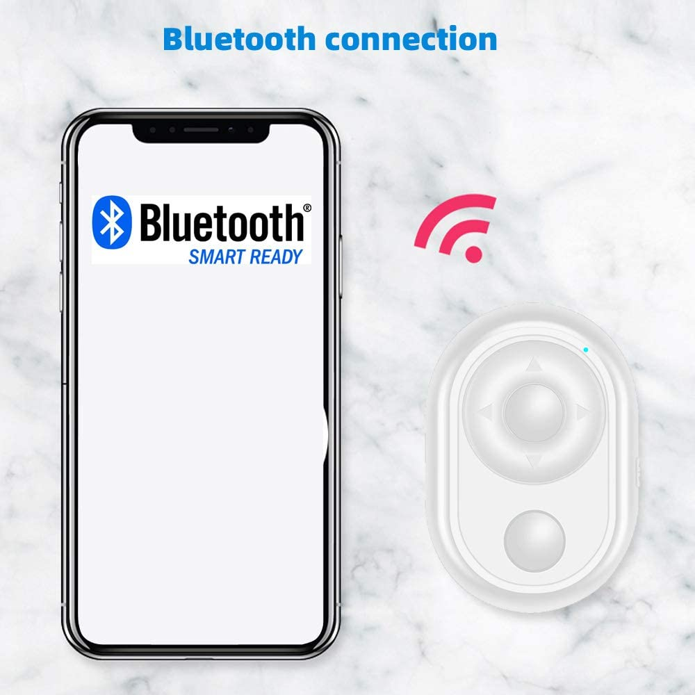 iPhone Green Multifunction Camera Shutter Remote Control with Bluetooth Wireless- Bluetooth Page Turner /& Selfie Remote Compatible for iPad iOS and Android Smartphone Tablet Devices iPod Touch