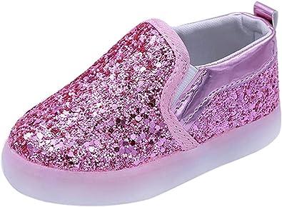 Zapatillas para Bebés Calzado Niños Lentejuela de imitación ...