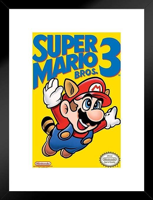 Amazon Com Pyramid America Super Mario Bros 3 Nintendo Nes