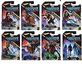 Hot Wheels 2017 Guardians of the Galaxy Vol. 2 Bundle Set of 8 Die-Cast Vehicles