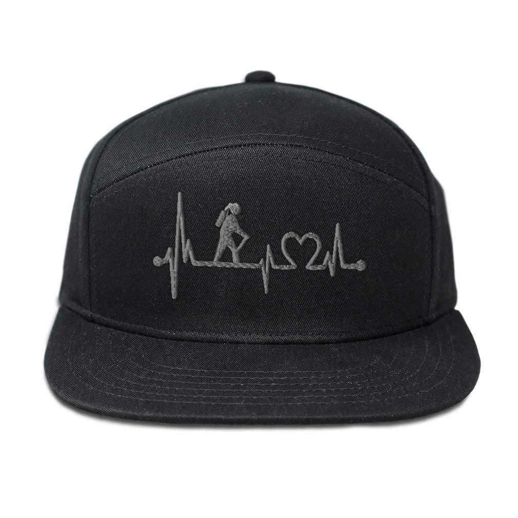 Custom Snapback Hats for Men /& Women Silver Hiking Lifeline Embroidery Cotton