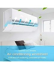 leegoal Déflecteur de Ventilation, climatiseur déflecteur Pare-Brise Anti-soufflage Direct Déflecteur d'air de climatisation Murale