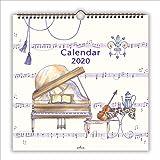 日本ホールマーク 2020年 カレンダー 壁掛け 大 音楽のある生活 761028