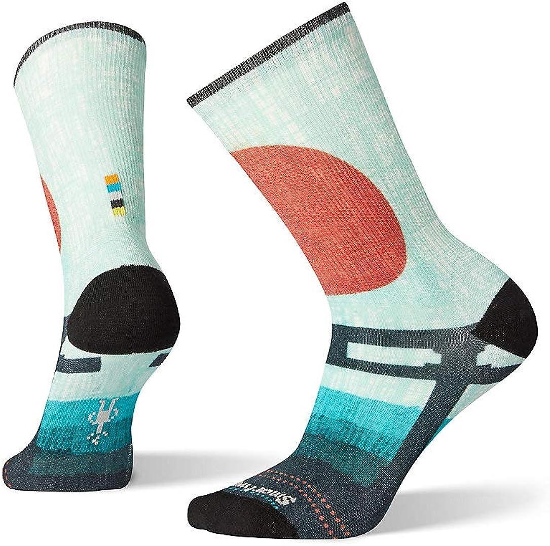 Smartwool PhD Outdoor Light Micro Socks Women/'s Striped Wool Performance Sock